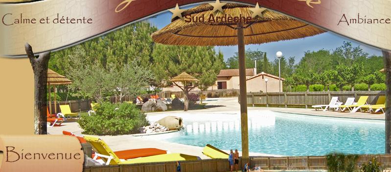 Camping La Source En Ardèche Meridionale à Berrias Et Casteljau En Sud  Ardèche Entre Aubenas Et Alès à Proximité De Vallon Pont Du0027arc, Ruoms, ...